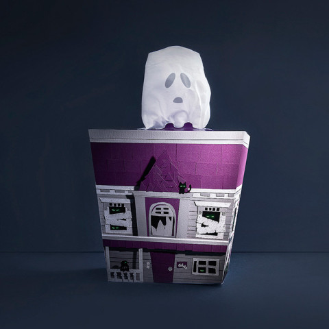 Haunted tissue packaging