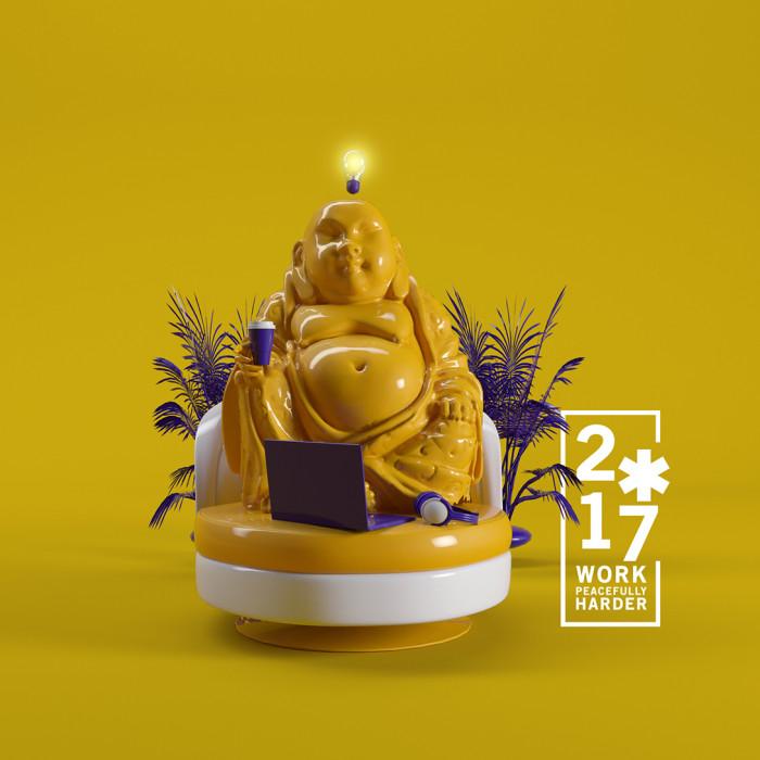 Packaging Working Buddha