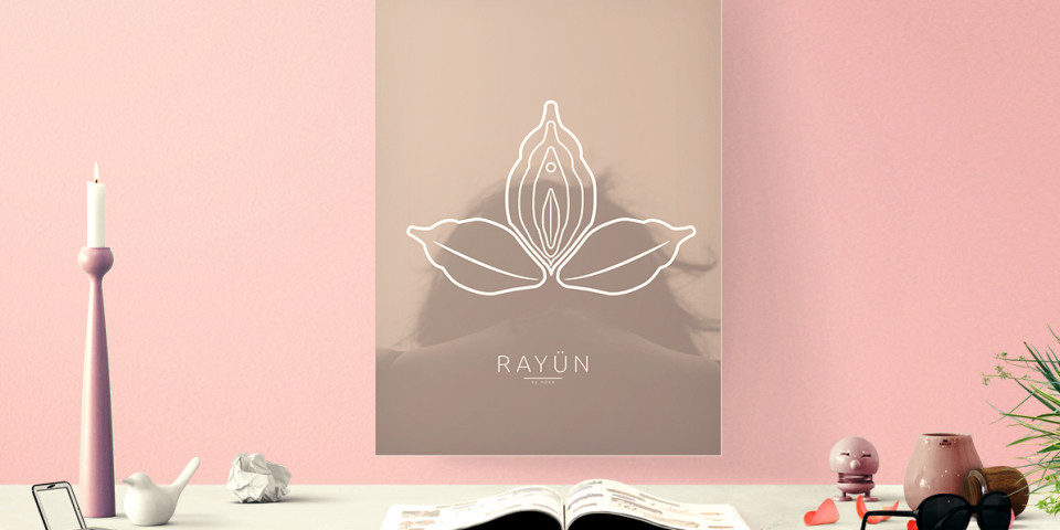 Rayün Gynecological Logo & Packaging