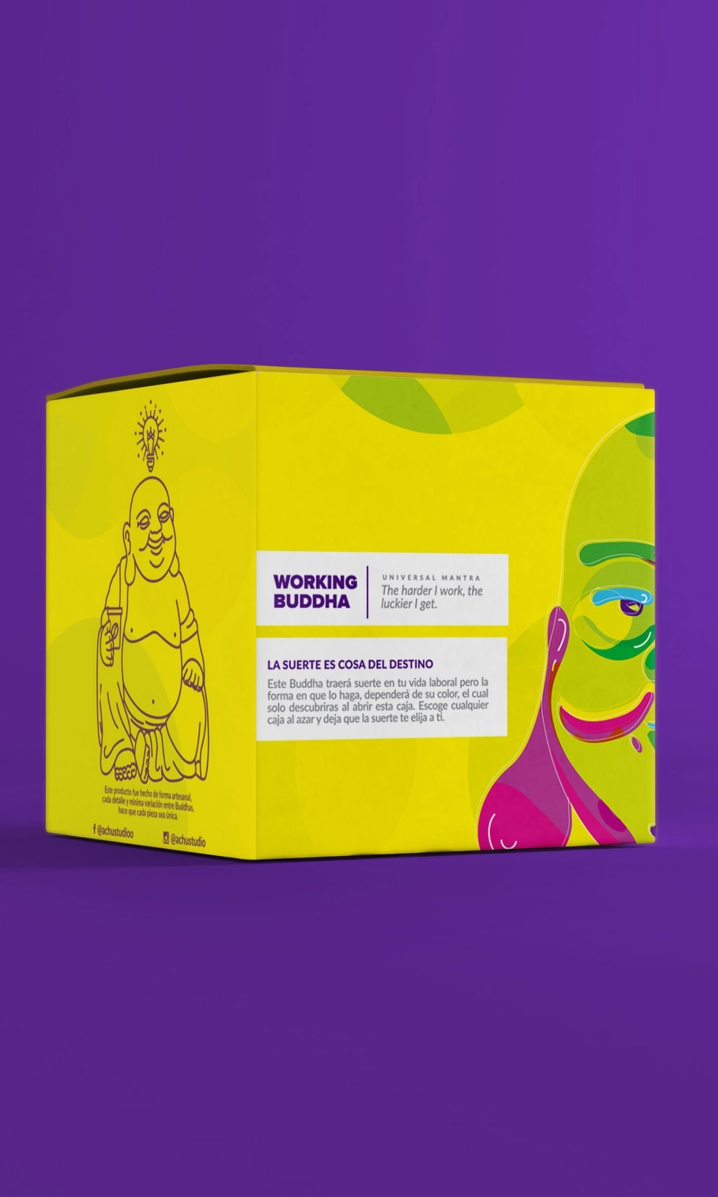 Packaging Working Buddha