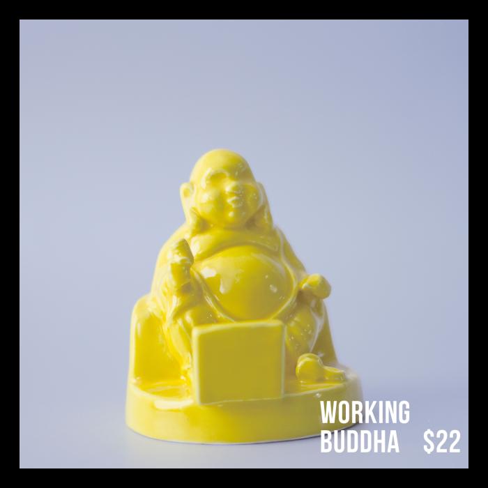Working Buddha